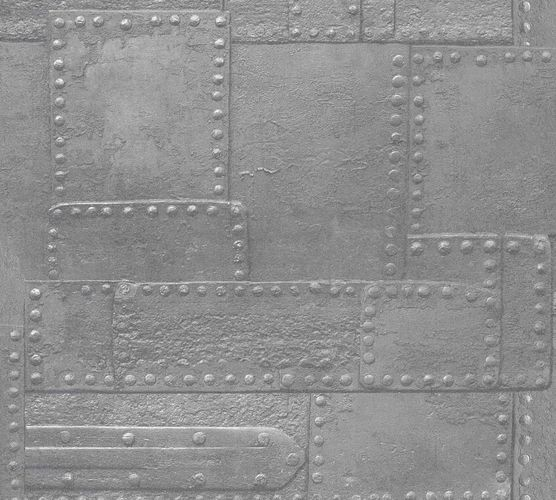 Non-Woven Wallpaper Metalwall silver Metallic 36494-3 online kaufen