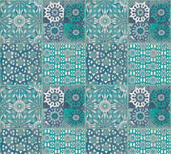 Vliestapete Orient Fliesen türkis grün blau 36895-3 online kaufen