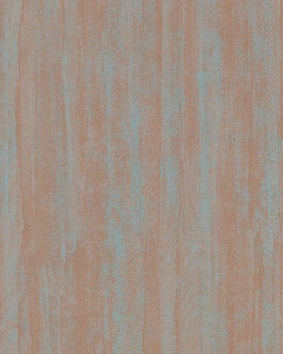 Vliestapete Liniert Vintage braun blau 31210