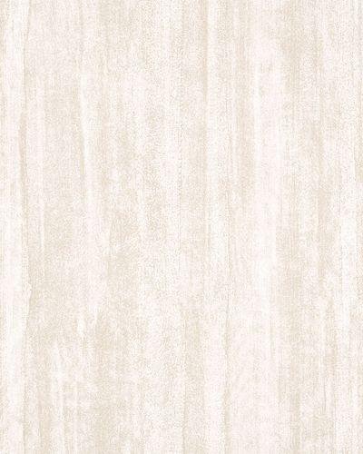 Vliestapete Liniert Vintage weiß beige 31201