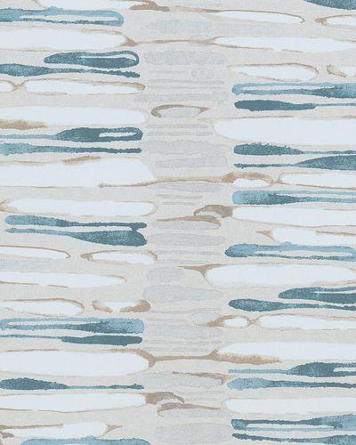 Vliestapete Abstrakt Gestreift beige taupe blau 31226