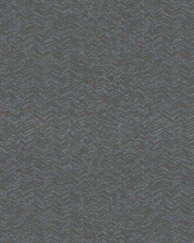 Vliestapete Fischgrät blaugrau silber Metallic 31241 online kaufen