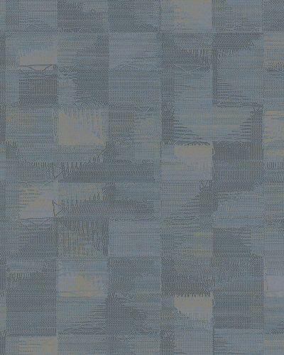 Vliestapete Abstrakt Kacheln anthrazit blau beige 31218 online kaufen