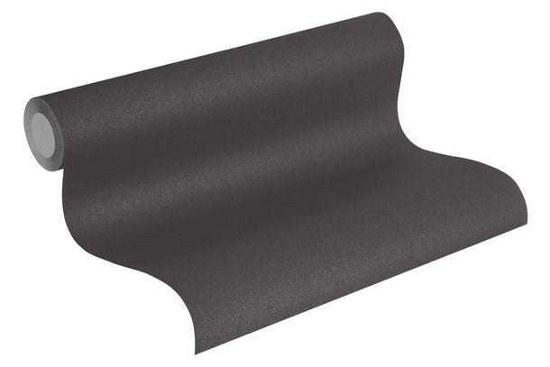 Non-Woven Wallpaper Uni Design black 36899-3 online kaufen