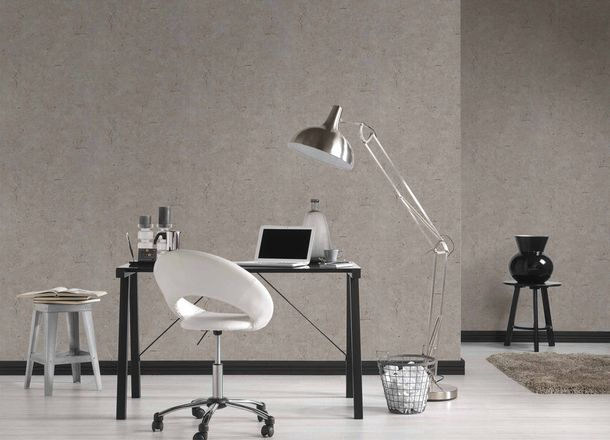 Non-Woven Wallpaper Concrete Vintage brown grey brown Gloss 36911-1 online kaufen