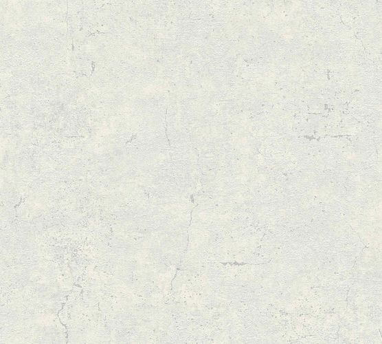 Non-Woven Wallpaper Concrete Vintage white grey green Gloss 36911-3
