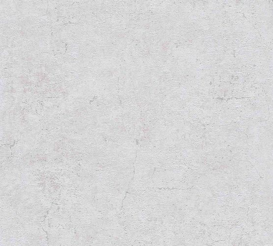 Non-Woven Wallpaper Concrete Vintage grey Gloss 36911-4