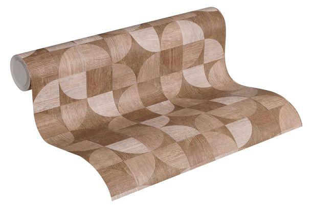 Non-Woven Wallpaper Wood Retro brown 36913-4 online kaufen