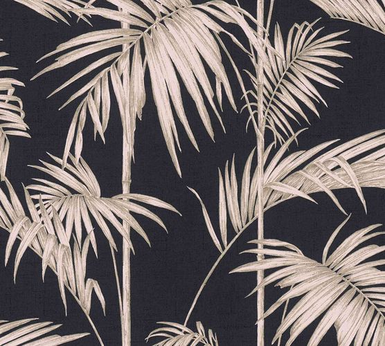 Non-Woven Wallpaper Bamboo Leaves Design blackpink 36919-1 online kaufen