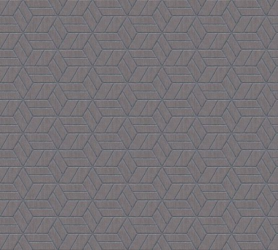 Non-Woven Wallpaper Graphic Cubes grey brown Glitter 36920-2 online kaufen