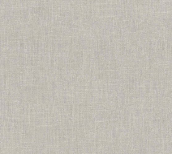 Non-Woven Wallpaper Textile Look Uni grey 36922-6