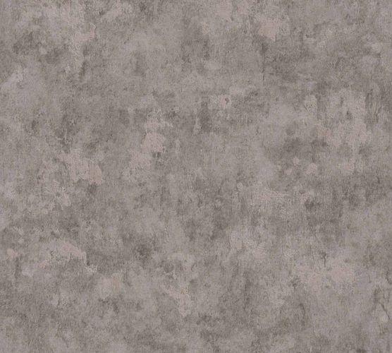 Non-Woven Wallpaper Concrete Vintage grey Gloss 36924-1