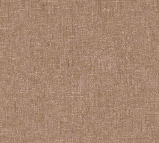 Non-Woven Wallpaper Textile Look Uni brown beige 36925-1