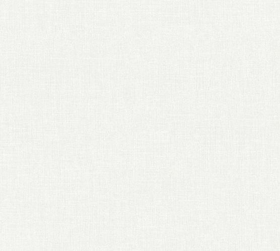 Vliestapete Uni Textil-Optik weiß 36925-3