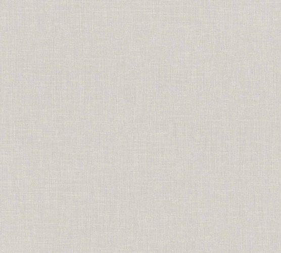 Vliestapete Uni Textil-Optik hellgrau 36925-5