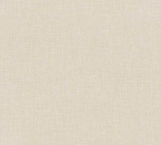 Vliestapete Uni Textil-Optik creme 36925-6