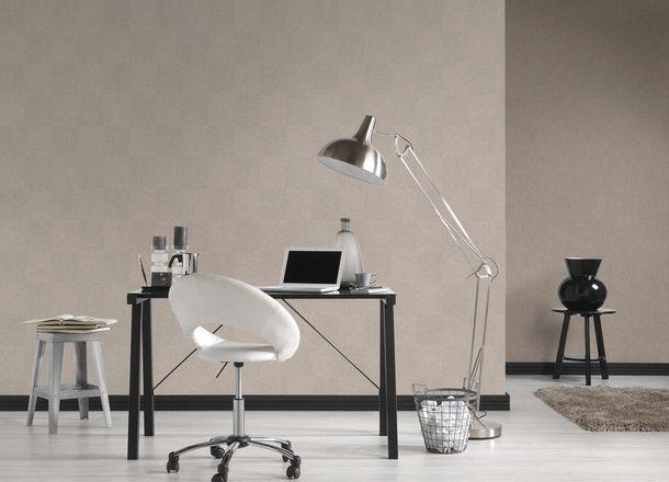Non-Woven Wallpaper Graphic Rhombuses beige cream Gloss 36926-2 online kaufen
