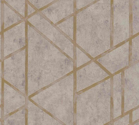 Non-Woven Wallpaper Concrete Graphic grey Gloss 36928-3