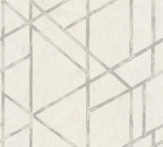 Non-Woven Wallpaper Concrete Graphic cream white grey Gloss 36928-5 online kaufen