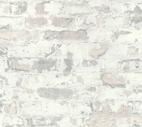 Non-Woven Wallpaper Stone Vintage cream grey 36929-3 online kaufen