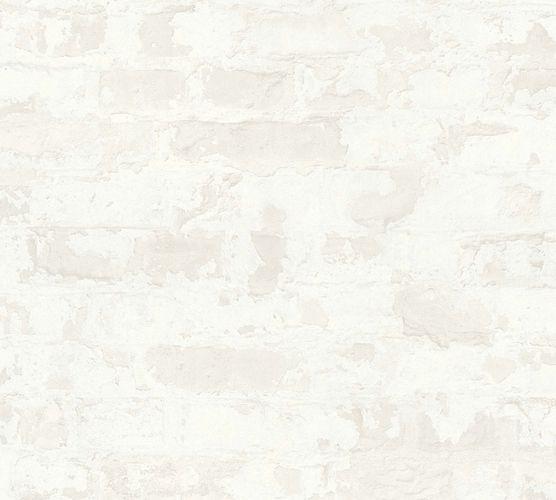 Vliestapete Steinmauer Vintage cremeweiß 36929-4 online kaufen