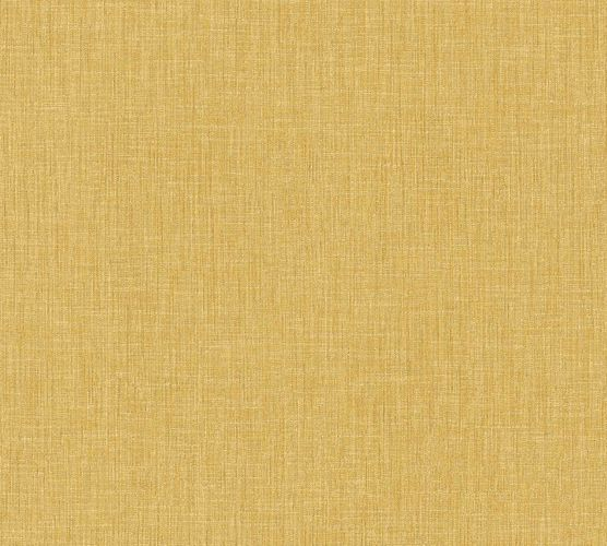 Non-Woven Wallpaper Textile Look Uni gold yellow 36922-1 online kaufen