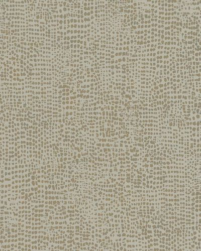 Non-Woven Wallpaper dots brown grey gold metallic 31302