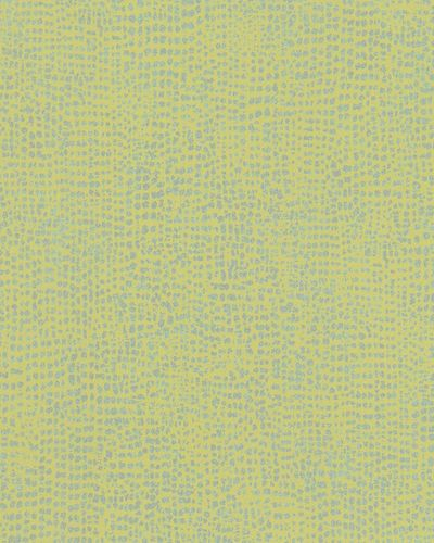 Non-Woven Wallpaper dots green yellow metallic 31303