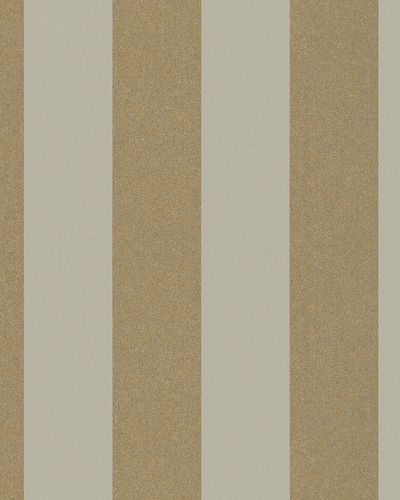 Non-Woven Wallpaper stripped brown grey metallic 31323