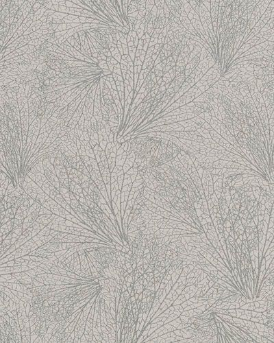 Non-Woven Wallpaper leave pattern cream beige 31332