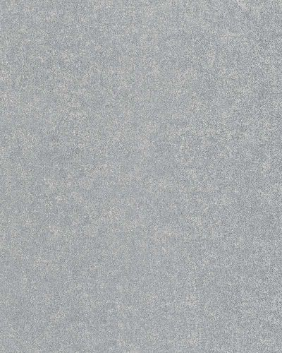 Non-Woven Wallpaper plain metallic silver 31341