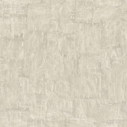 Non-woven Wallpaper Trowel Plaster Look cream metallic 83974 online kaufen