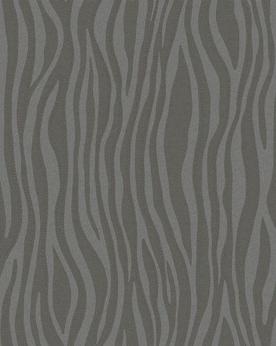 Non-Woven Wallpaper Stripes Zebra anthracite gloss 30401 online kaufen