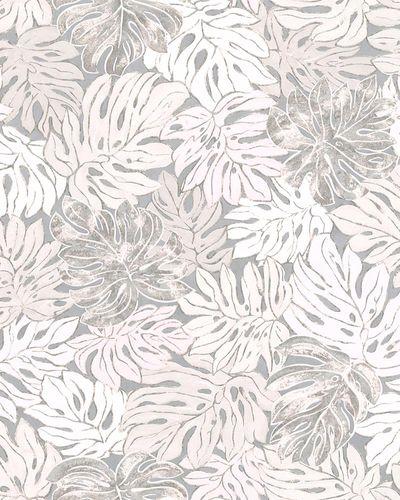 Tapete Vlies Blätter grau rosé Marburg Casual 30433 online kaufen