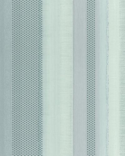 Tapete Vlies Gestreift Punkte grün grau metallisch 30443 online kaufen