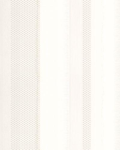 Tapete Vlies Gestreift Punkte creme silber Casual 30445 online kaufen