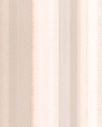 Tapete Vlies Gestreift Punkte apricot metallisch 30447 online kaufen