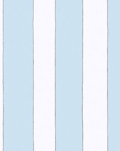 Kids Wallpaper Wide Stripes blue white Jonas Koetz 31102 online kaufen