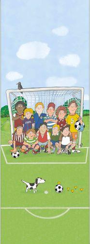 Kids Photo Wallpaper Football green Jonas Koetz 46504 online kaufen