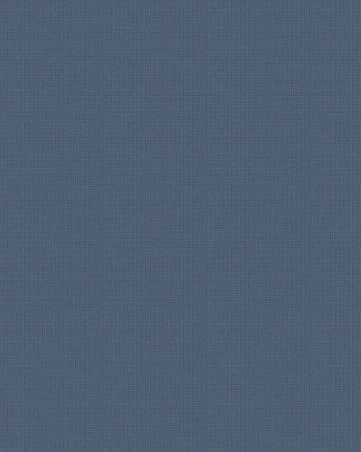 Tapete Vlies Textil-Optik dunkelblau Glanz 30834