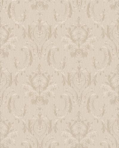 Non-Woven Wallpaper Baroque beige Gloss 30625