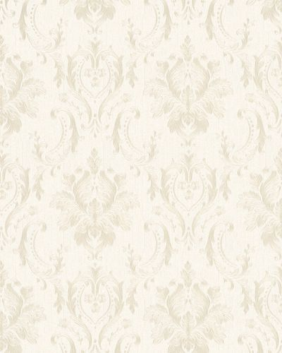 Non-Woven Wallpaper Baroque cream beige gold Gloss 30626