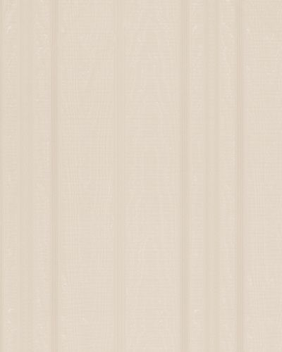 Non-Woven Wallpaper Striped Satin beige Gloss 30632