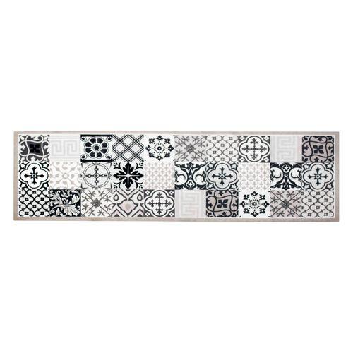 Küchenteppich Küchenläufer Kachel Fliesen Mosaik | Anti-Rutsch