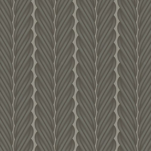 Colani Non-Woven Wallpaper Legend Rope grey silver 84064 online kaufen