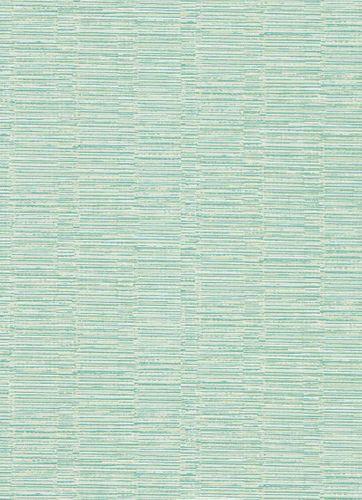 Vinyltapete Strichmuster Quer grün weiß 5428-07
