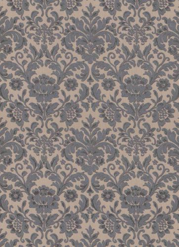 Vinyl Wallpaper Baroque brown silver Metallic 6378-11 online kaufen