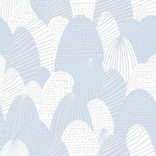 Tapete Kinder Ostereier hellblau weiß 005423 online kaufen