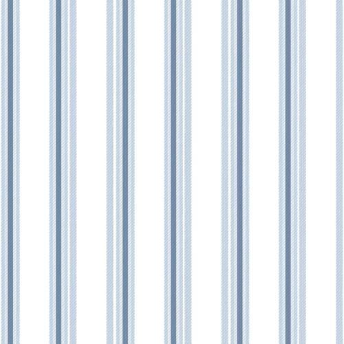 Tapete Kinder Gestreift weiß hellblau 005436 online kaufen