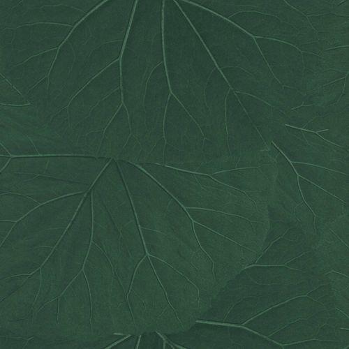 Non-Woven Wallpaper Leaves 3D Floral dark green 138997 online kaufen